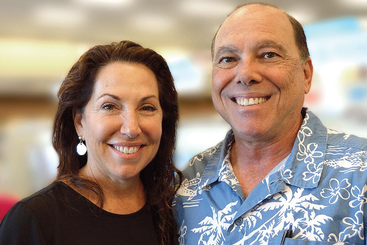 Lisa Landwirth Ullman and her brother, Greg Landwirth