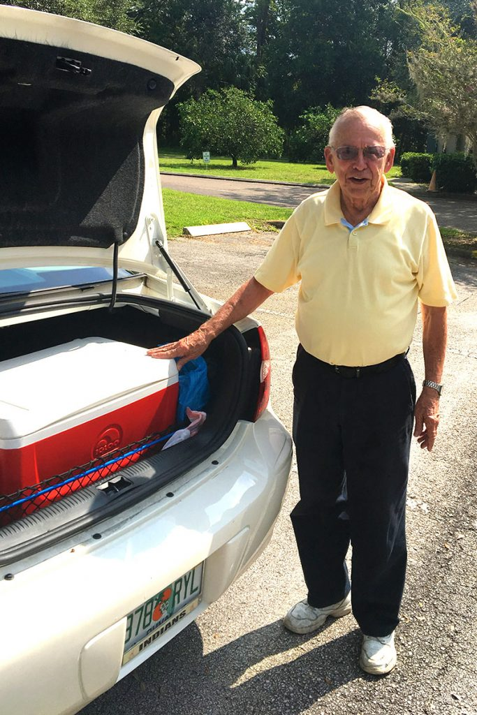 Meals on Wheels Driver Tom Doyle