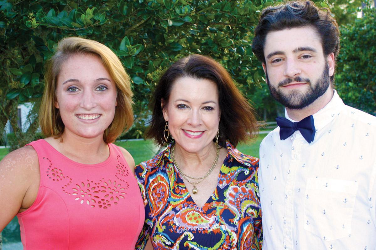 Casey, Leslie and Tyler Burkhalter