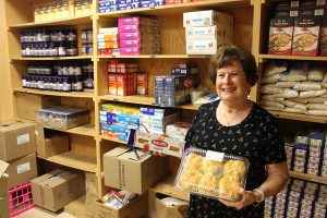 Retired volunteer busies herself by giving back