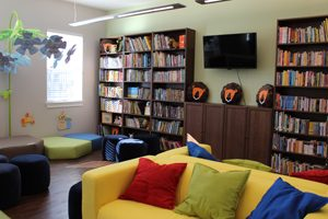 Sulzbacher Village has more than 3,000 books available in its Children's Library for homeless children living in the apartments to read, thanks to a donation by Bold City (FL) Chapter of the Links, Incorporated.