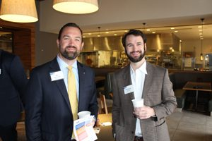 United Way of Northeast Florida supporters Ian MacDonald and Matthew Spohrer