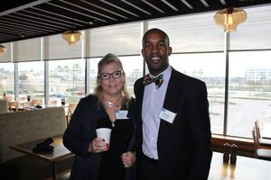 United Way of Northeast Florida supporters Lorrie Blanchfield and Darren Brownlee