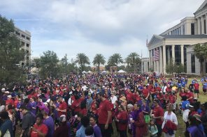 10th annual Domestic Violence Awareness Walk, the Stand Up & Stride, raises almost $90,000