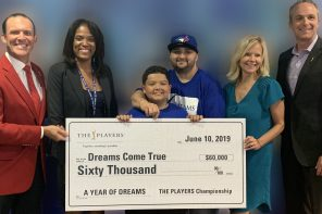 Dreams Come True receives THE PLAYERS donation