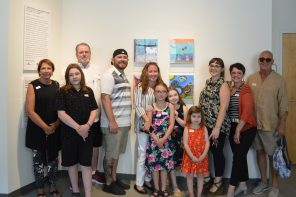 Annual art exhibit features works by young patients