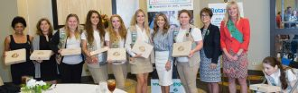 Teens earn highest Girl Scout achievement