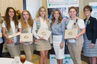 Teens earn highest Girl Scout achievement