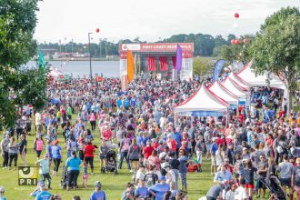 On Sept. 21, the largest number of First Coast residents ever - over 25,000 people - laced up their sneakers and joined together to raise a record $2.1 million to help the American Heart Association fight heart disease and stroke